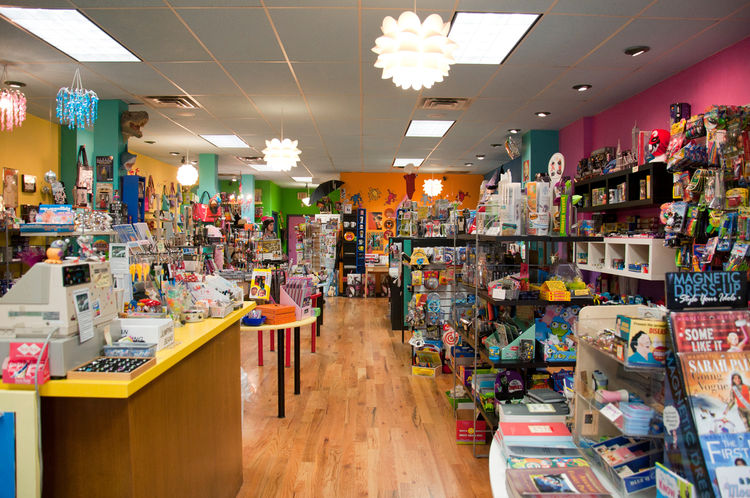 Toy store in Beacon, New York