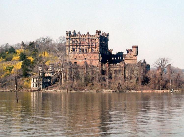 Bannerman's Castle in Beacon, New York