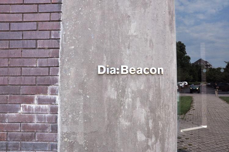 Sign at Dia:Beacon