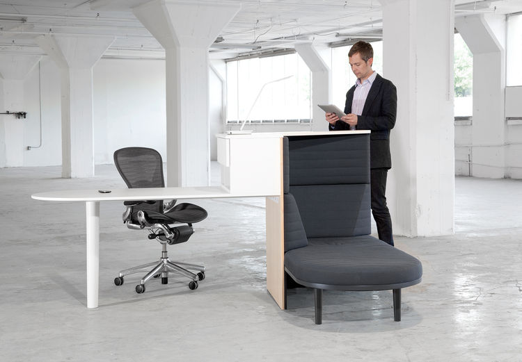 Standing integrated workstation by Matthew Plumstead