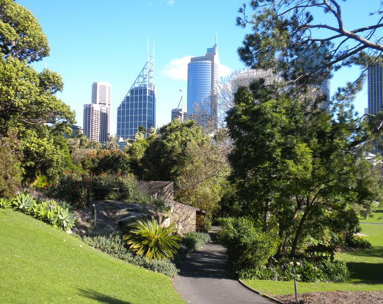 The Royal Botanic Gardens in Sydney Australia