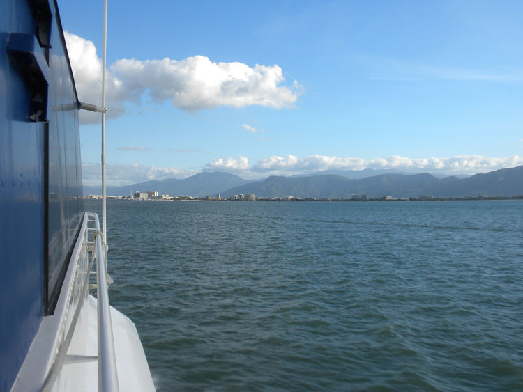 Boat ride view of Cairns Australia