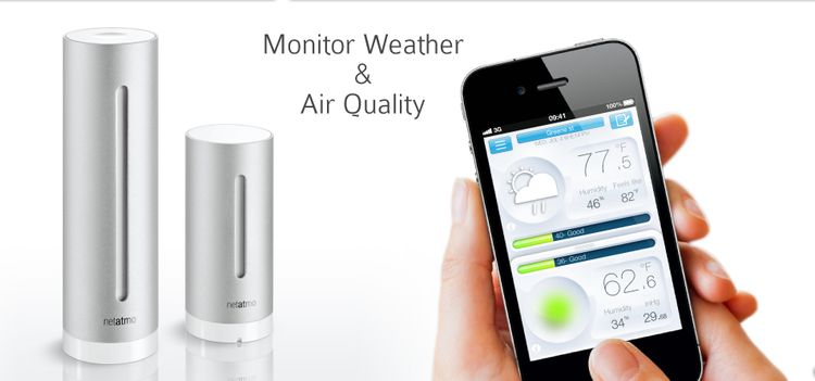 Neatmo urban weather station
