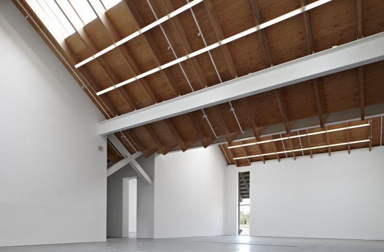 Interior of Parrish Art Museum