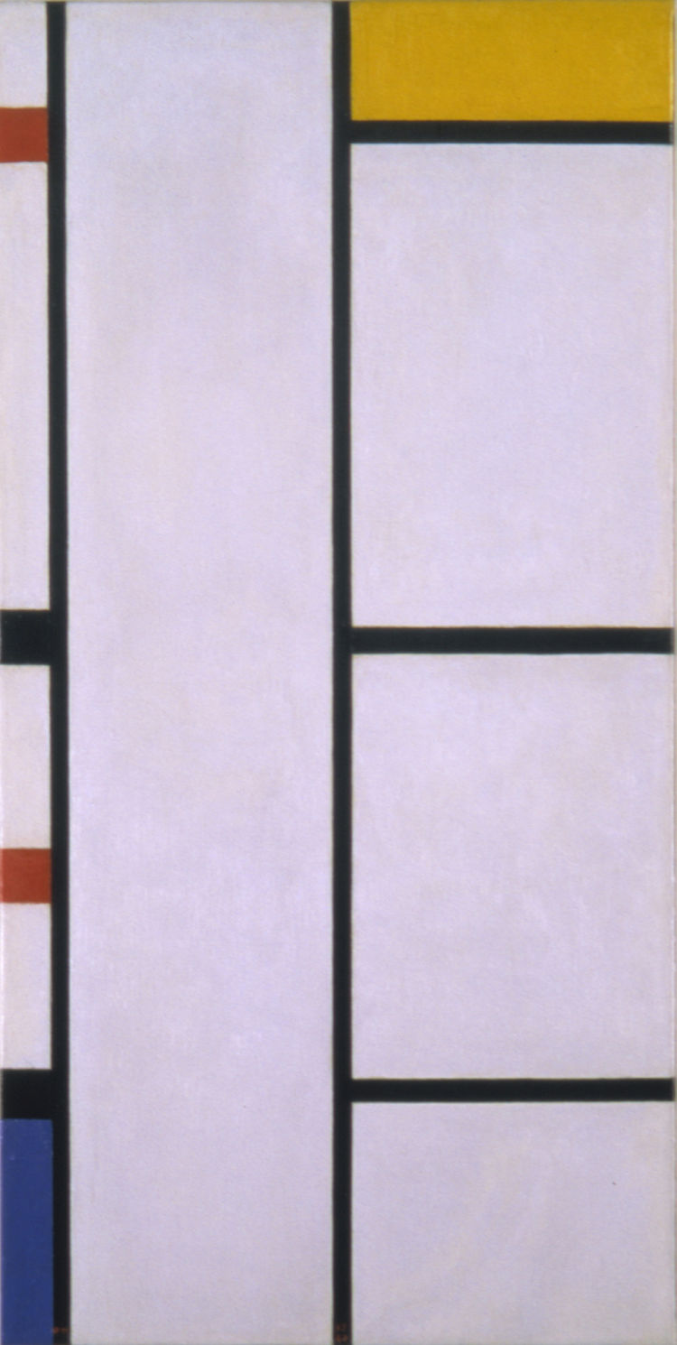 Composition (No. III) by Piet Mondrian