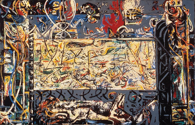 Guardians of the Secret by Jackson Pollock