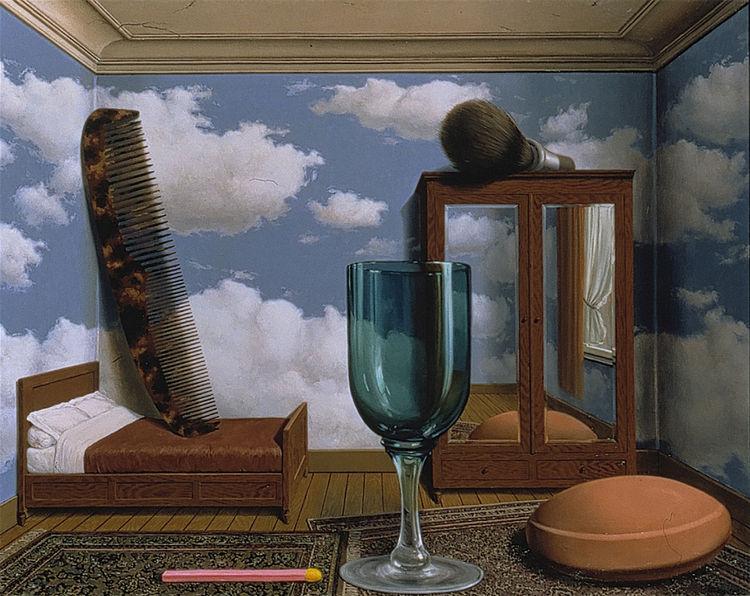 Les valeurs personnelles by René Magritte