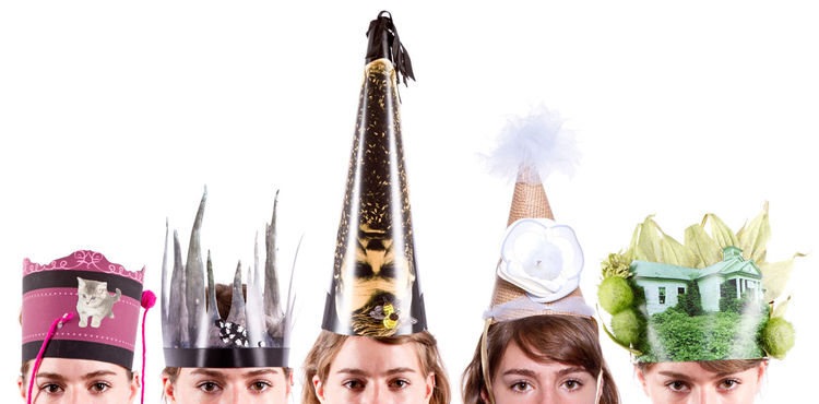 Alleged Party Hats by Heather Grace/Alleged