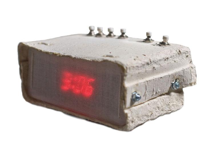Paper Alarm Clock by Joon&Jung