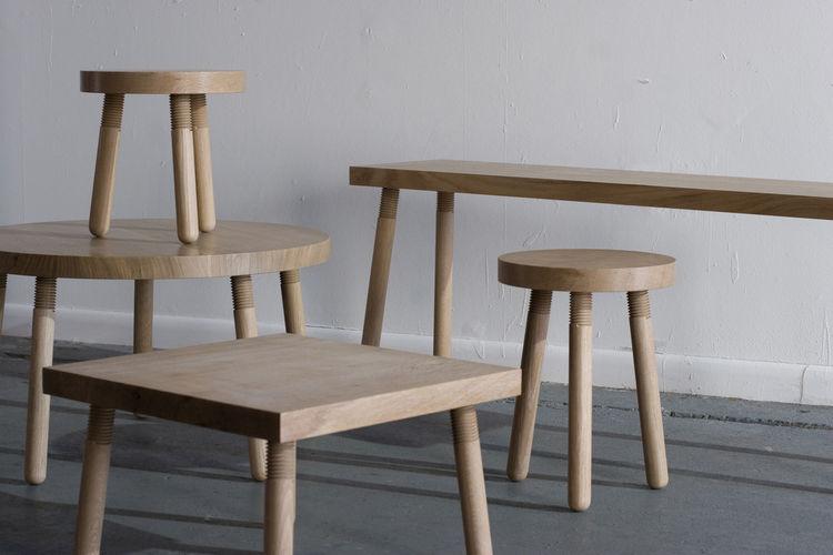 Wood furniture by Atelier Takagi
