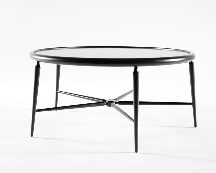 Black table by Atelier Takagi