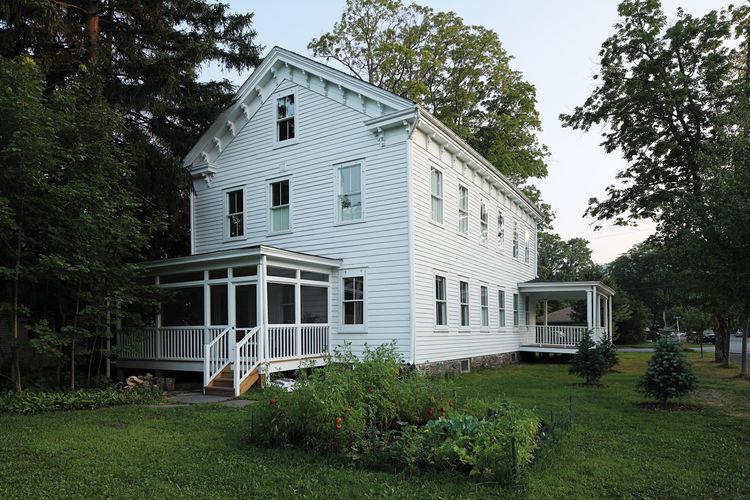 Modern schoolhouse home renovation