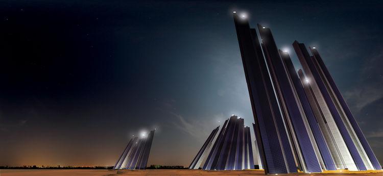 Solar Fractals by Tanzim Hasan Salim