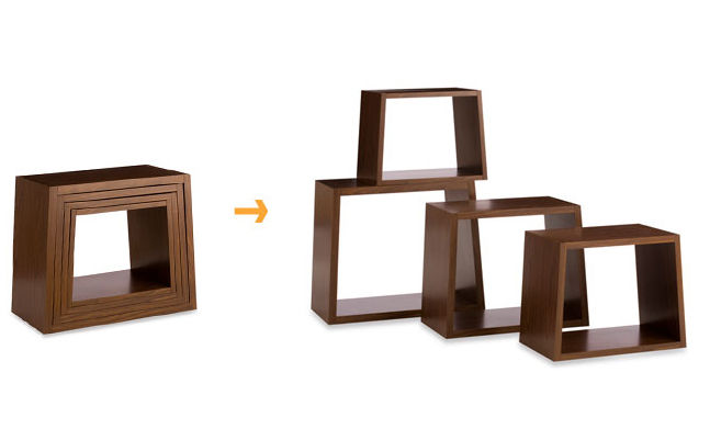 Nesting stools by Dror for Target