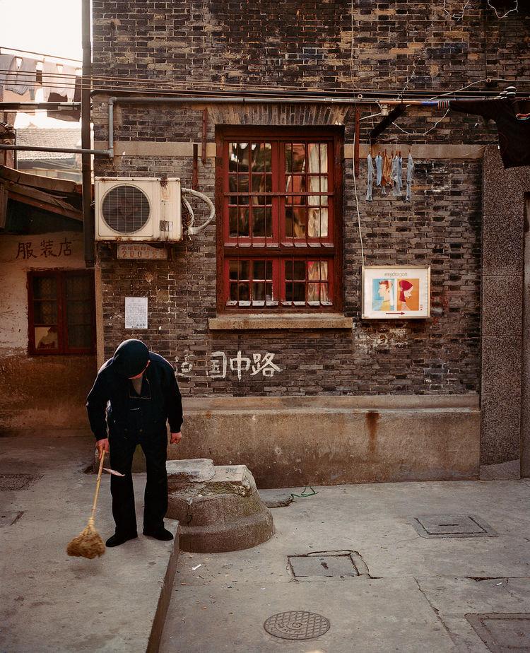 Taikang Lu District in Shanghai China