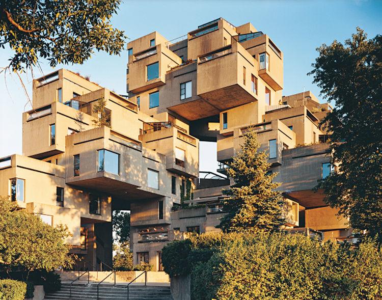 Habitat 67 by Moshe Safdie