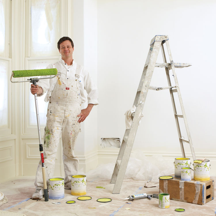 Paint expert Clayton Hubbard