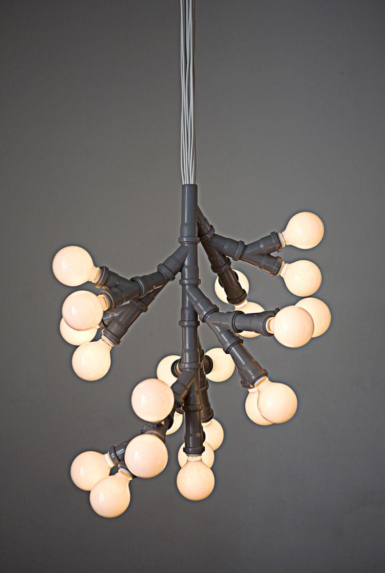 Bunch of Bulbs Pendant Lamp by KiBiSi