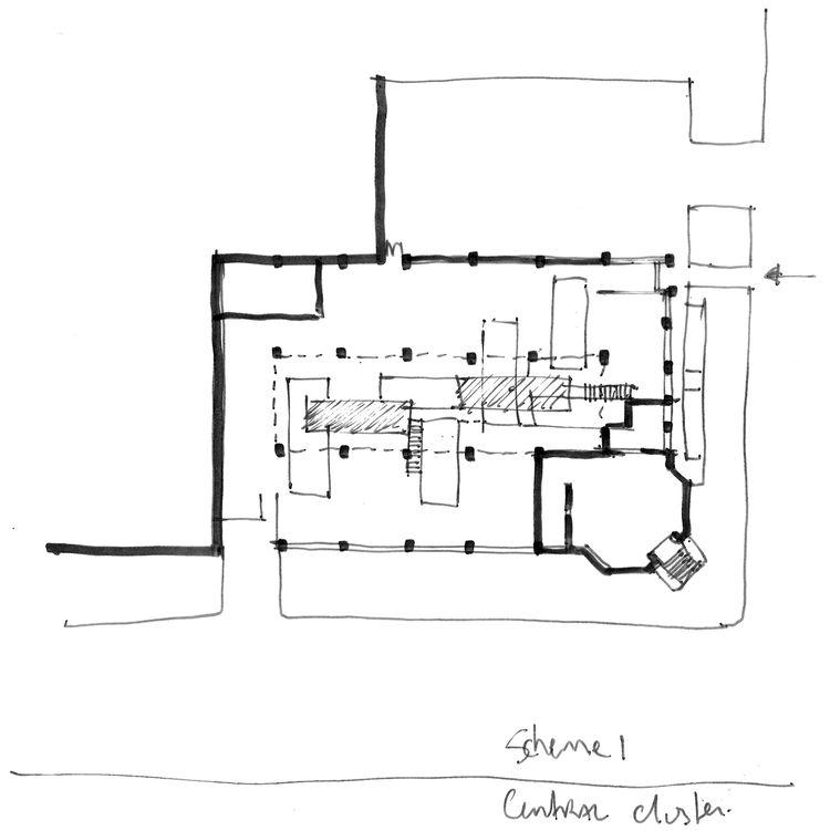 Skylab North Project illustration sketch