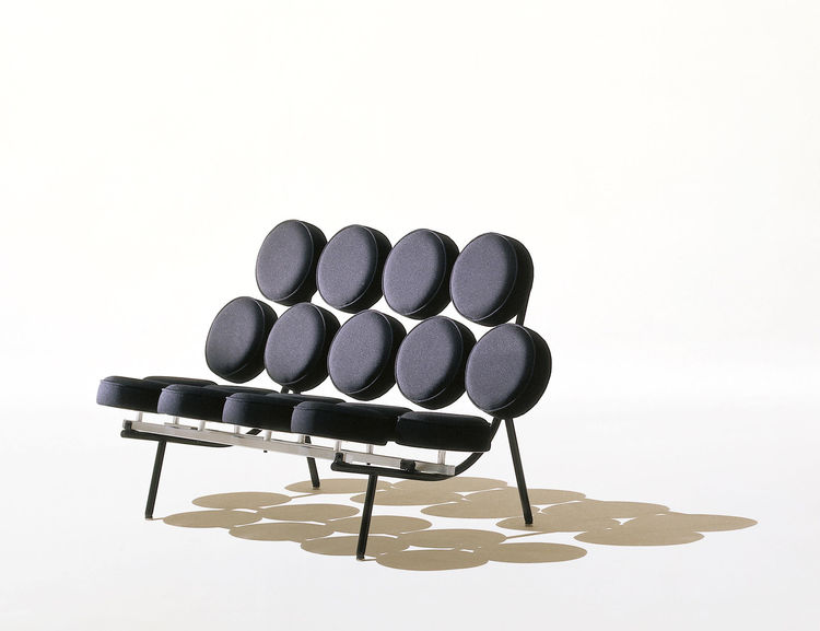 Marshmallow Sofa by George Nelson for Herman Miller