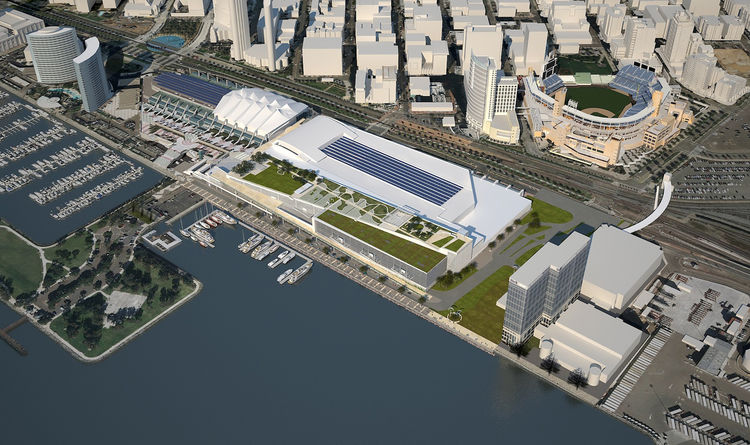 San Diego Convention Center Expansion by Fentress Civitas