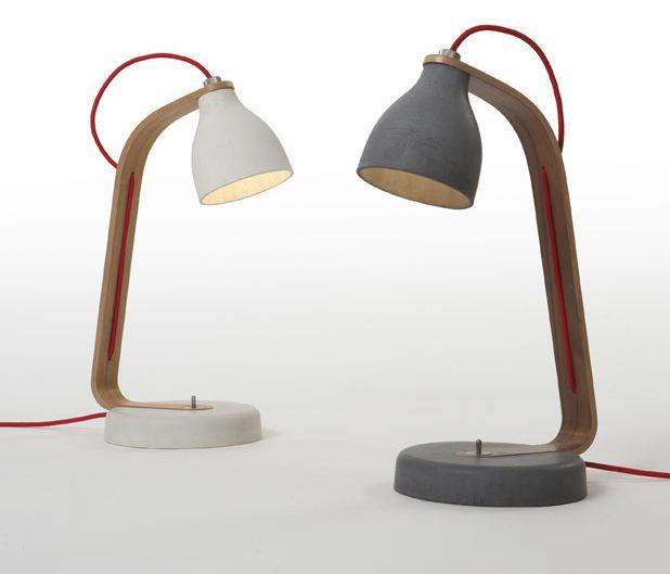 Heavy Light Lamp by Benjamin Hubert