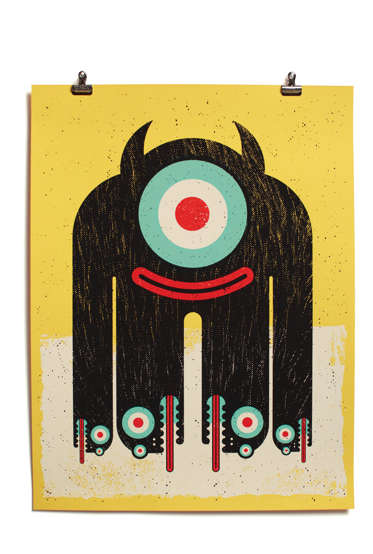 Doombuddy print by Aesthetic Apparatus