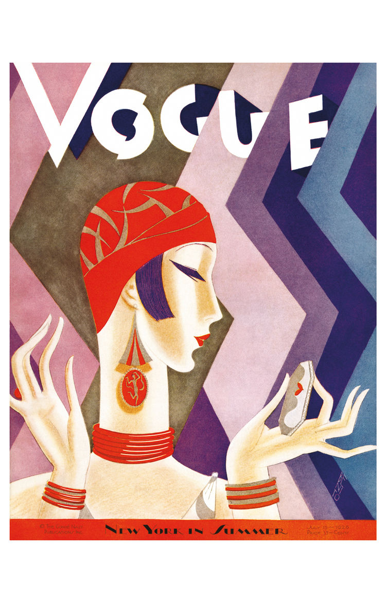 Vogue cover from the 1920s