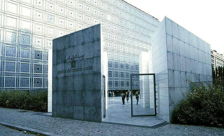 L'Institut du Monde Arabe by Jean Nouvel in Paris, France