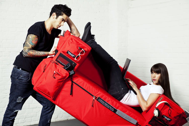 Backpack Sofa by Quinze&Milan