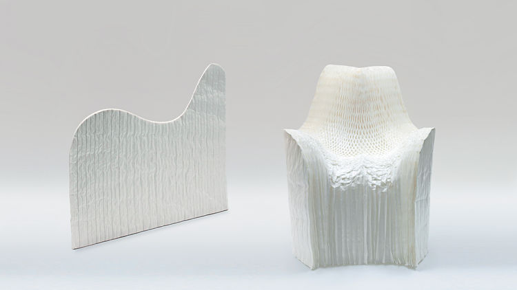 Tokujin Yoshioka, Honey Pop Chair, 2000-2001