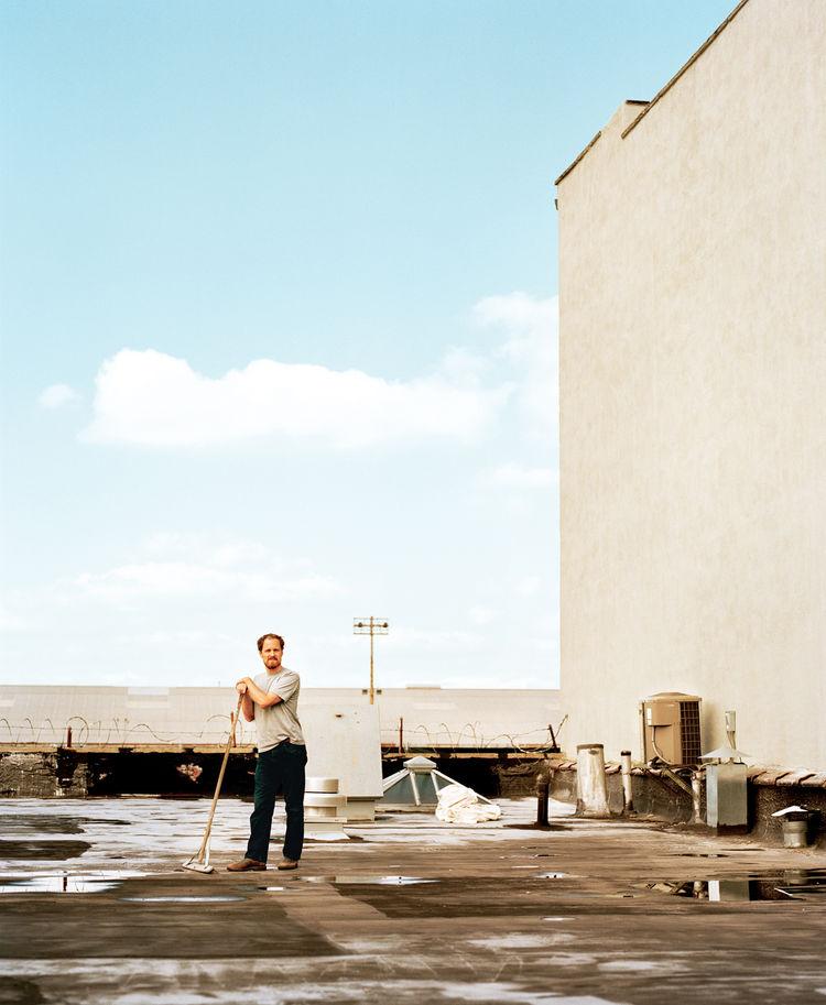 Cinematographer Wilmot Kidd in Red Hook, Brooklyn
