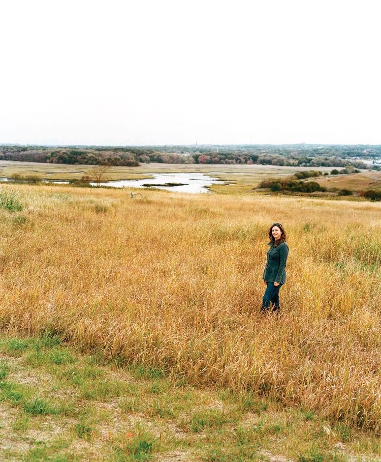 Carrie Grassi in Freshkills Park