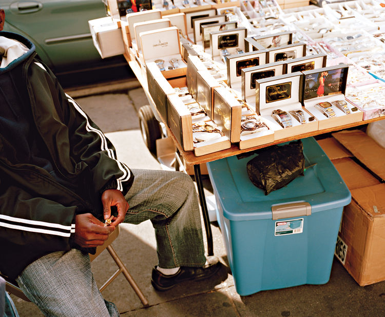 New York City street vendor