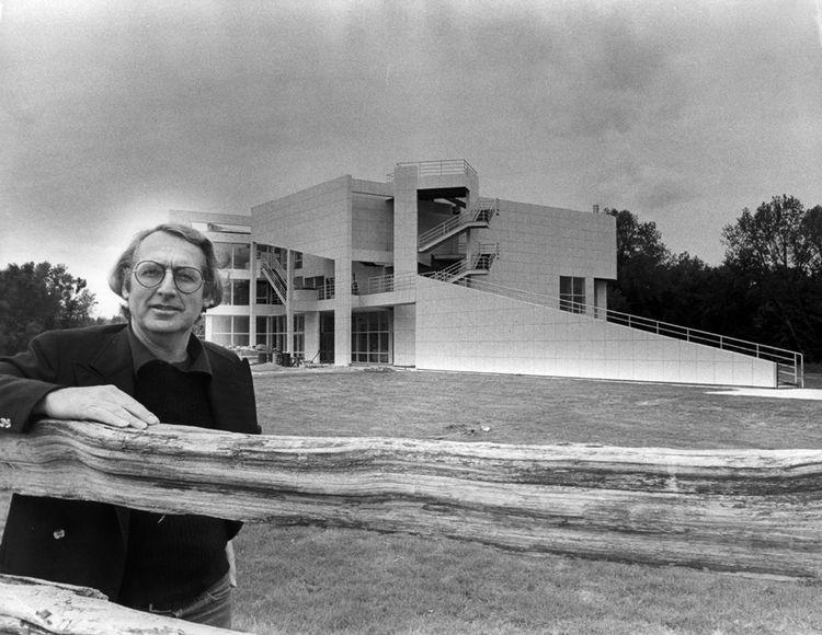 Portrait of Richard Meier at the Atheneum