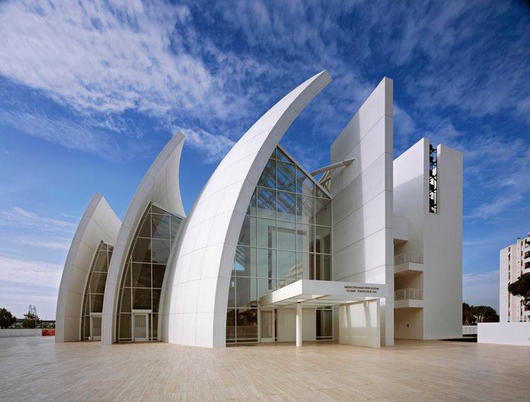 Jubilee Church by Richard Meier