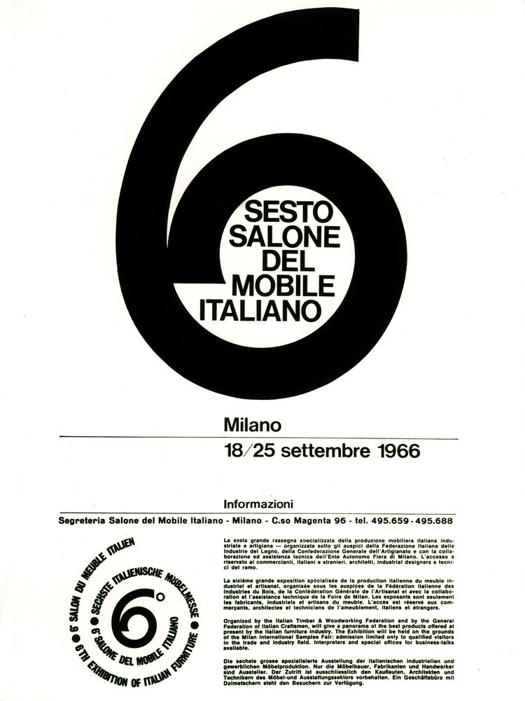 Salone del Mobile Italiano poster