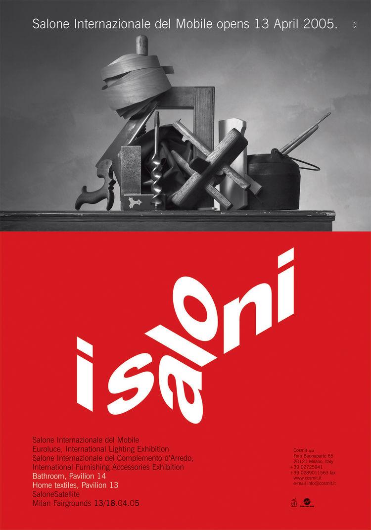 Salone Internazionale del Mobile 2005 poster