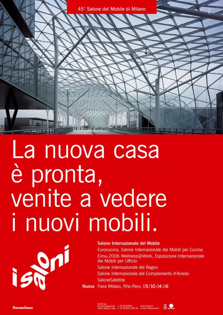 Salone Internazionale del Mobile 2006 poster