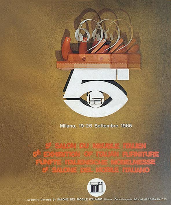 Salone del Mobile Italiano Manifesto poster