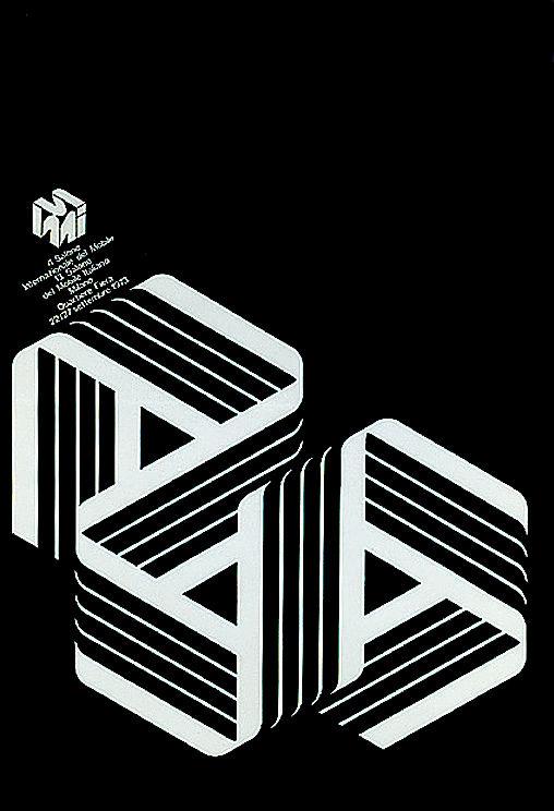 Salone Internazionale del Mobile 1973 Alberto Longhi poster