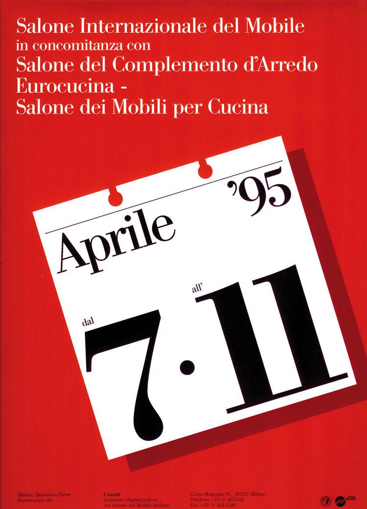 Salone Internazionale del Mobile 1995 poster