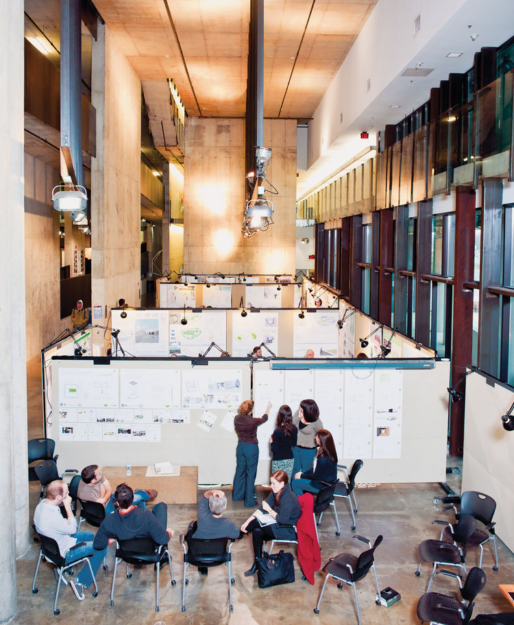 Austin E. Knowlton School of Architecture 's Knowlton Hall classrooms