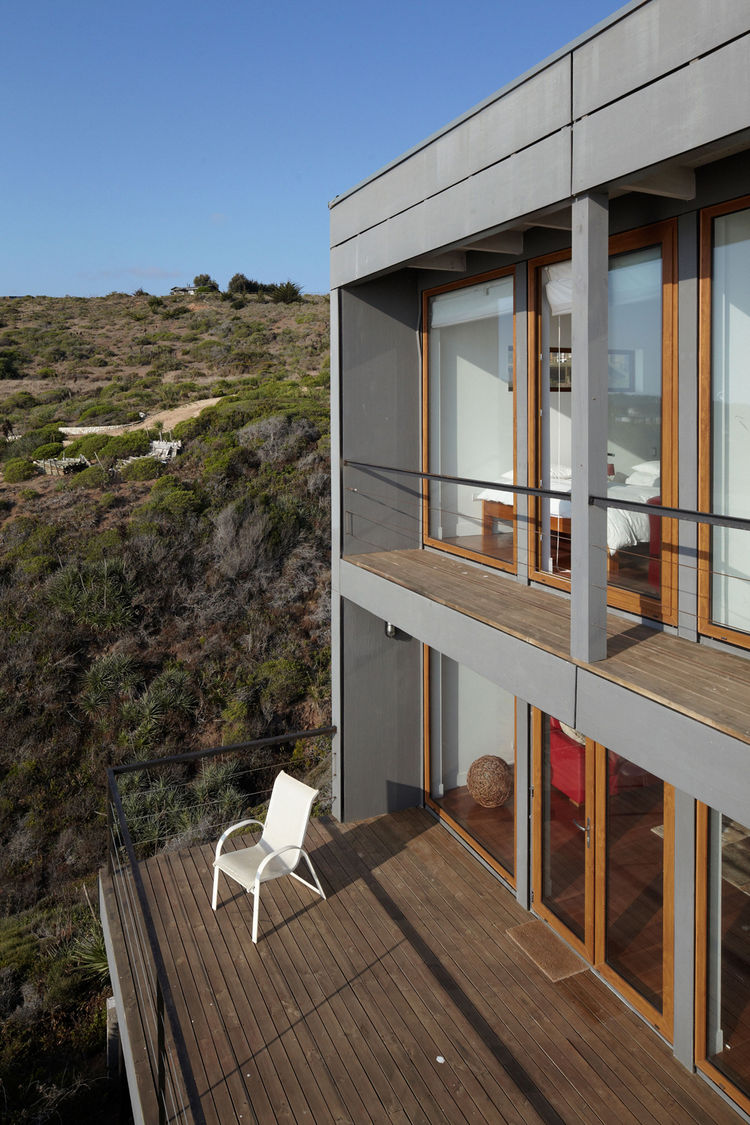 Eco-friendly house deck by the hills