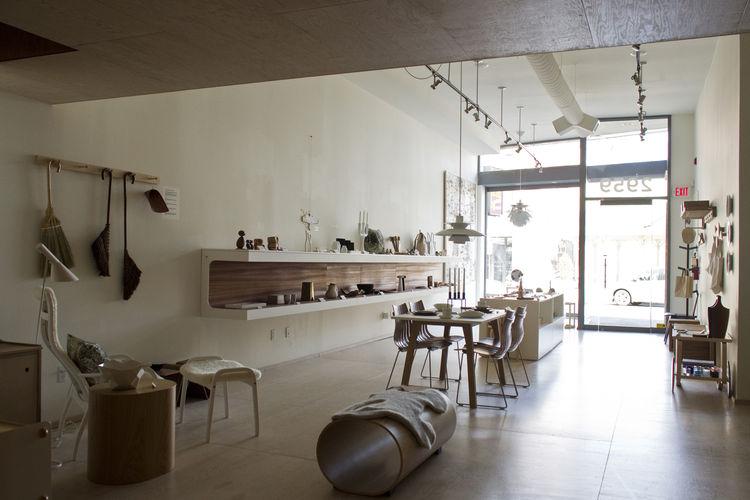 Mjolk store designed by Studio Junction Inc.