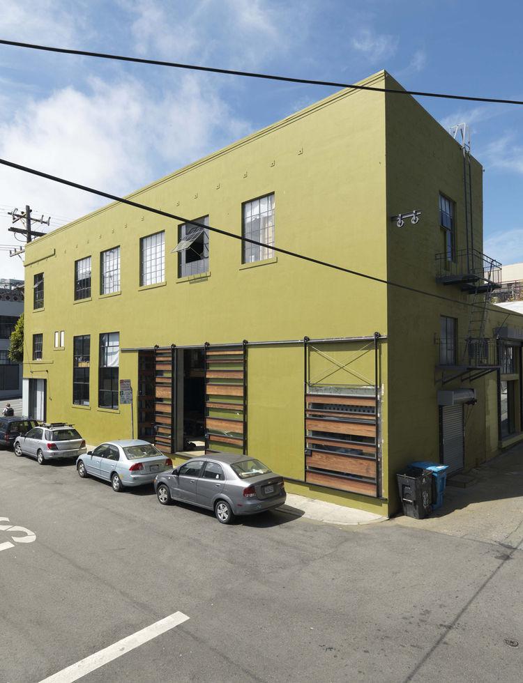 1940s-era building renovation in San Francisco, California