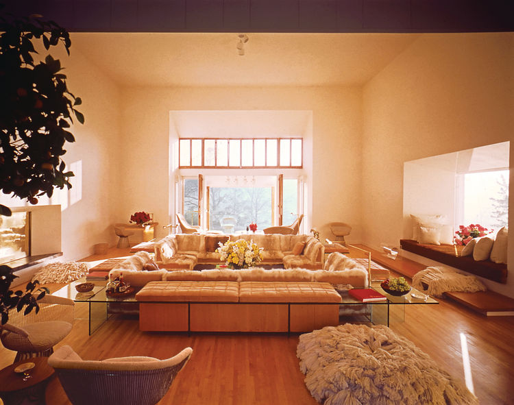 Warren Platner's home in Guilford, Connecticut