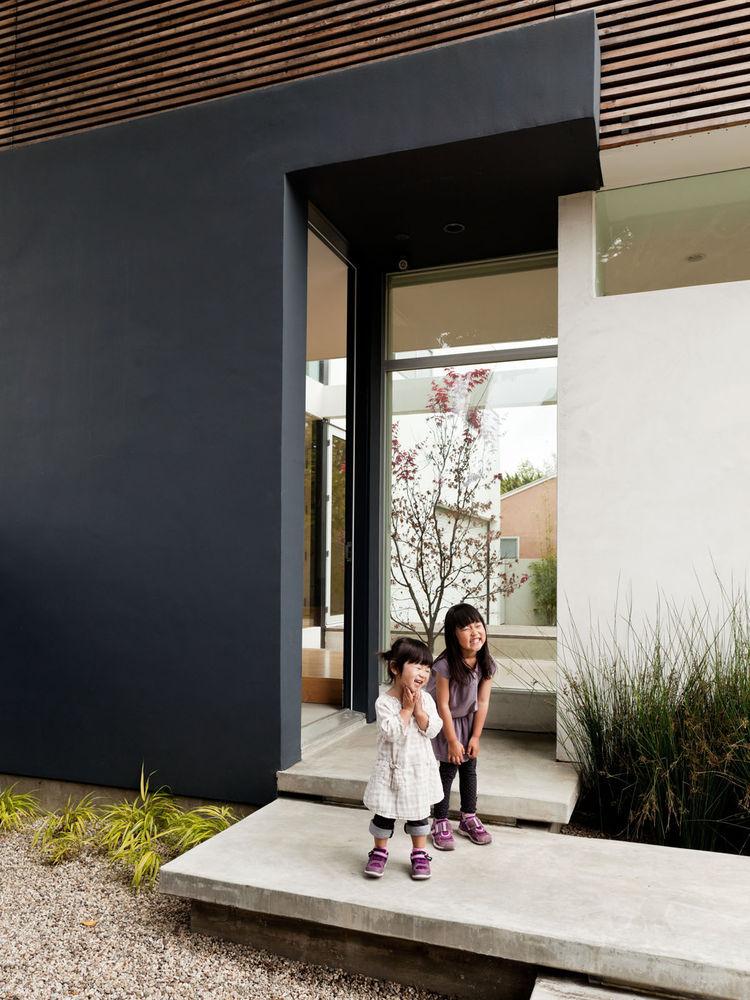 Concrete doorway