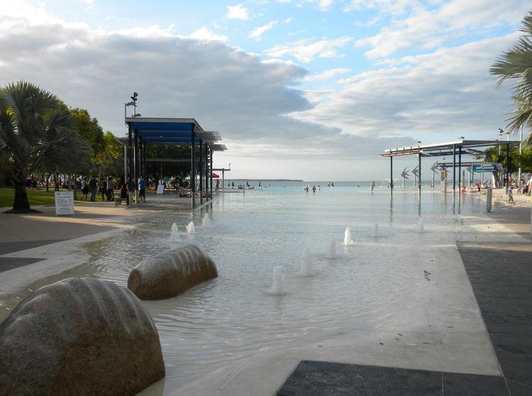 The Cairns Esplanade Pool in Australia