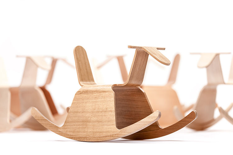 Roo rocking chair by Aldis Circenis
